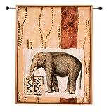 Impressions of Africa V Modern Tapestry