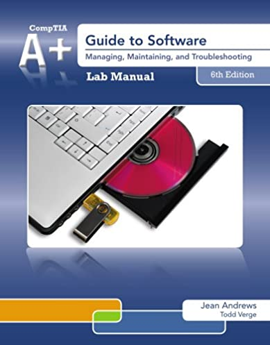 amazon com lab manual for andrews a guide to software 6th rh amazon com APA Template 6th Edition Harlequin Eldar 6th Edition Strategies