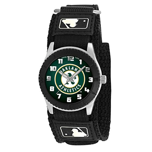 Logo Gametime Watch - OAKLAND A'S kids watch black Adjustable up to 6 inches watch free shipping