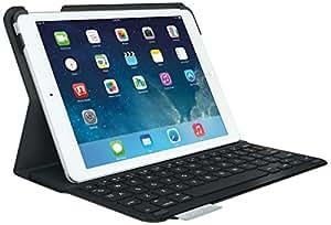 Logitech Ultrathin Keyboard Folio f/ iPad Air - Funda para tablet (185.1 mm, 20.15 mm, 255.5 mm, USB), color negro, teclado QWERTZ Alemán [Importado de Alemania]