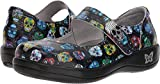 Alegria Womens Kourtney Mary Jane, Sugar Skulls, Size 38 EU (8-8.5 M US Women)