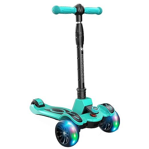 WYQ Scooter Freestyle, Patinete 3 Ruedas niño Plegable ...