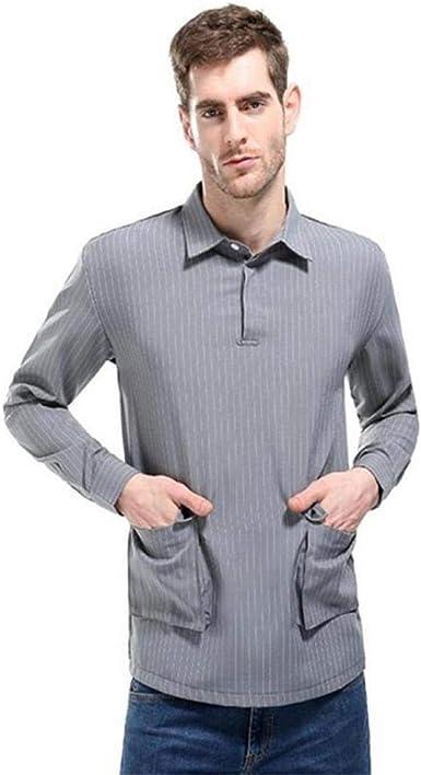 Saoye Fashion Camisa De Corte Regular para Hombre Camisas De Rayas Largas Ropa Camisas De Oci: Amazon.es: Ropa y accesorios