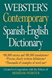 Webster's Contemporary Spanish-English Dictionary, Merriam-Webster, Inc. Staff, 1596950552