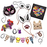 Craft-tastic-I-Love-Animals-Kit-Craft-Kit-Makes-8-Different-Animal-Themed-Craft-Projects