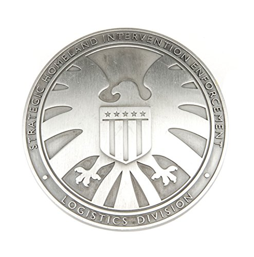 TELAM Generic the Avengers Agents of Shield S.h.i.e.l.d. Metal Badge ()