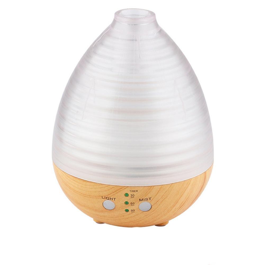 Creative Woodless Humidifier USB Woody Transparent Fragrance Machine Mini Ultrasonic Home , light wood transparent