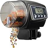 Alimentatore Automatico Acquario ,NICREW Alimentatore di Pesce Automatico dell'animale Domestico Feeder Dispenser con Display LCD per Acquari, per Pesci o Tartarughe