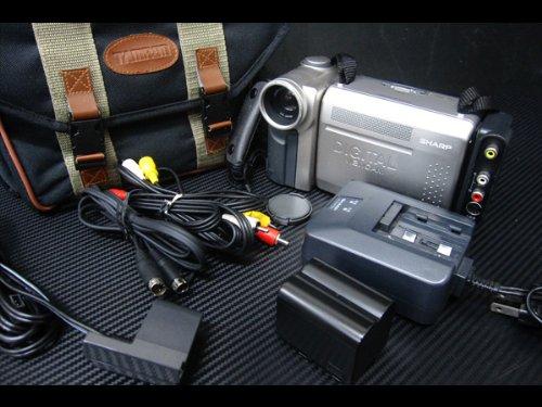 SHARP シャープ VL-DC3 液晶デジタルビューカム ビデオカメラ miniDV