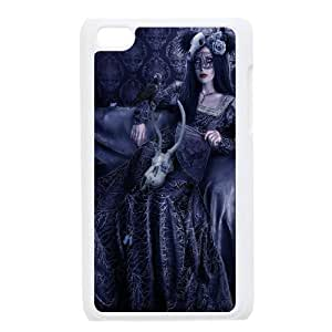 Ipod Touch 4 Bloody girl Phone Back Case Personalized Art Print Design Hard Shell Protection TY084520