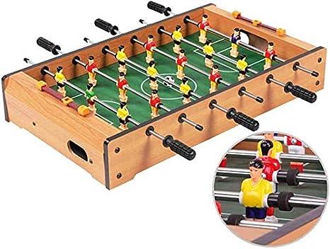 GSAGJsh Mini mesa de futbolín, mini mesa de aire hockey de mesa y mini mesa de