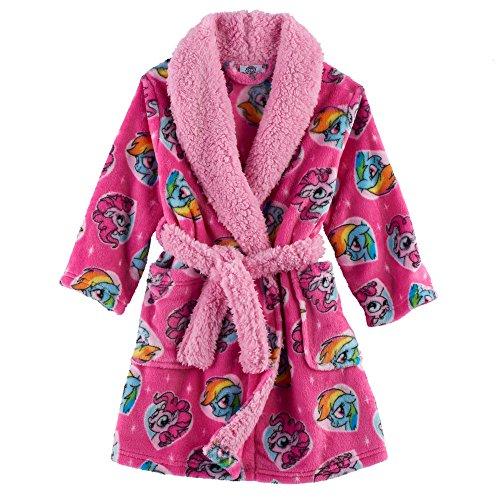 (AME My Little Pony Fleece Robe Toddler Girls (2T) )