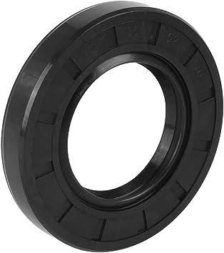 X AUTOHAUX 25mm X 52mm X 10mm Rubber Double Lip TC Oil Shaft Seal for Car Automobile
