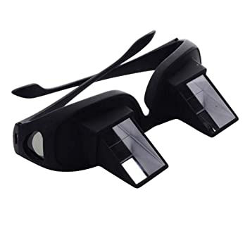 Prism Glasses, Healthcare Bed Prism Spectacles, Lazy Spectacles Horizontal Glasses Lie Down for Reading