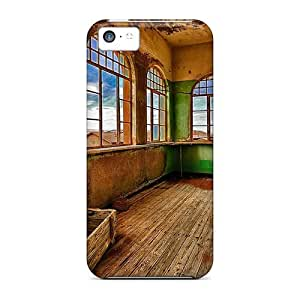 Diycase Awesome Front Room Of An Aboned House Hdr Flip case cover With Fashion Design 6OYwDbML4IF For Iphone 6 plus 5.5''