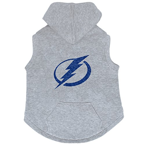 NHL Tampa Bay Lightning Pet Hooded Crewneck, XS