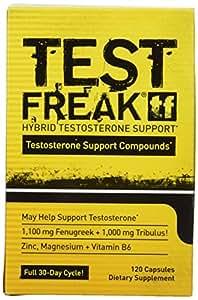 PHARMAFREAK TEST FREAK - 120CT - USA - Testosterone Stimulator - #1 Selling Testosterone Booster - Increase Libido, Sex