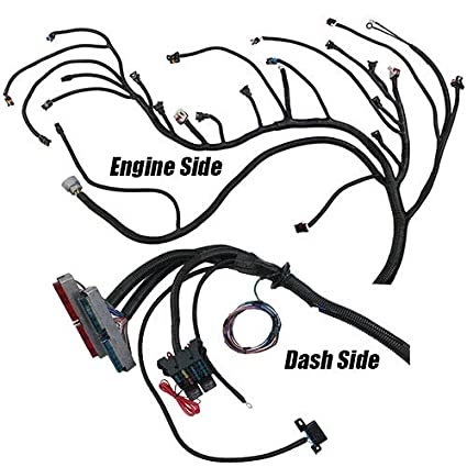 Performance World 329092 Complete Lslsx Engine Swap Wiring And