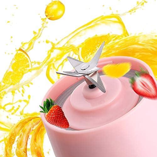 1 Pc Milkshake Blender Exprimidor Portátil Usb Recargable Juicer Taza Recargable Mezclador Portátil