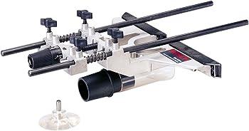 Bosch RA1054 Deluxe Router Edge Guide + Bosch Drill Bit