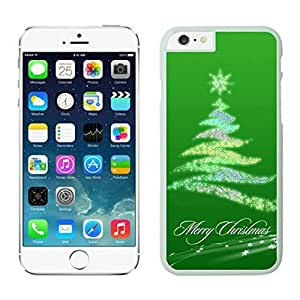 The Christmas Tree On Christmas Day Lovely Mobile Phone Protection Shell for iphone 6 Case-Unique Soft Edge Case(2015),Christmas tree iPhone 6 Case 16 White
