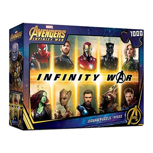 正式的 1000Piece Puzzle Jigsaw Puzzle MARVEL MARVEL 1000Piece Avengers Infinity War III B07DQD858F, ダヴィンチマーケット:d6e7c941 --- a0267596.xsph.ru