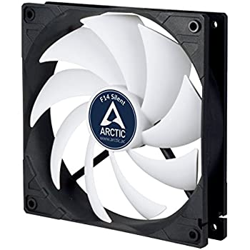 ARCTIC F14 SILENT-140 mm Standard Case Fan, Ultra Low Noise Cooler, Silent Cooler with Standard Case, Push- or Pull Configuration Possible