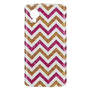 Loud Universe Nexus 5 Glitter Print 3D Wrap Around Case - Multi Color