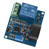 B Blesiya AC 0-5A Current Detection Sensor Module Switch Output Working Voltage DC 12V Overcurrent Protection