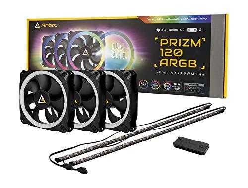 Ventilador Antec Prizm 120mm Addressable RGB Case Fan Radiat