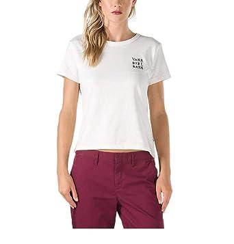 eb15c522cc Vans Women s Clan Baby Crew Neck T-Shirt Marshmallow VN0A3D5DFS8 (X-Large)
