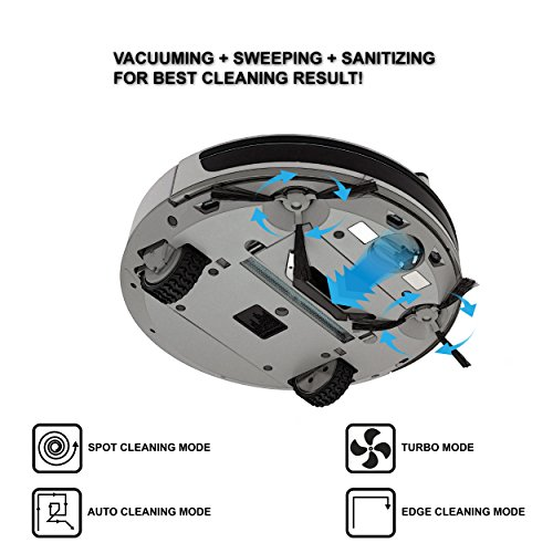 Hovo 750 Robotic Vacuum Cleaner With Auto Charging Remote