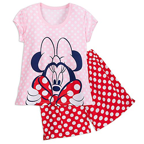 Disney Minnie Mouse Short Sleep Set For Women