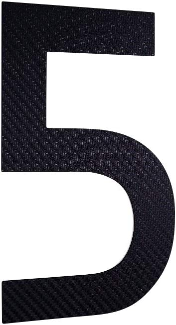 carbon H/öhe 20 cm ITC Bauhaus Design 2D wetterfest rostfrei V2A im Shop 0 1 2 3 4 5 6 7 8 9 a b c Hausnummer Edelstahl schwarz