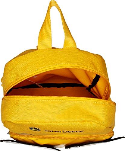 51%2B1FvqOajL - John Deere Little Kids Boys Girls Toddler Backpack, CONSTRUCTION YELLOW, One Size