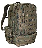 Molle 3 Day Military Assault Pack Backpack--OD DIGITAL