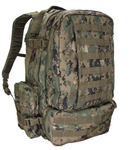 Molle 3 Day Military Assault Pack Backpack–OD DIGITAL, Outdoor Stuffs