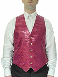 Men's Sequin Casual Vest