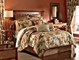 CROSCILL Home Fashions Bali 4-Piece Harvest Full Size Comforter Set