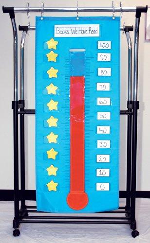 Carson Dellosa Thermometer/Goal Gauge Pocket Chart (158025)