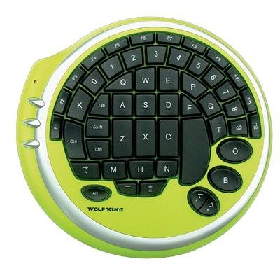 Wolfking Game Pad (Warrior Gaming Keypad Green)