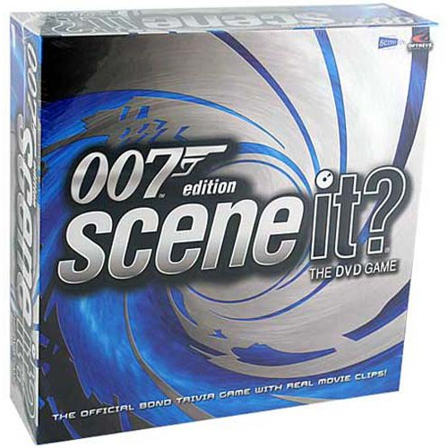 Scene It? 007 Edition - The DVD game by Mattel