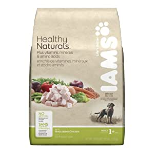 Iams Healthy Naturals Adult Dog With Wholesome Chicken Premium Dog Food 15.5 Lbs