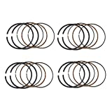 AHL 60mm Piston Rings for Kawasaki GPX600R GPX600 R 1989 1996-1998 Replace 13008-1088 13025-1086 (4 Sets)