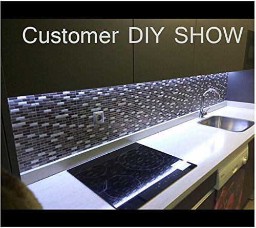 Tile & sticker 3d gel mosaic effect self adhesive splashback tile ...