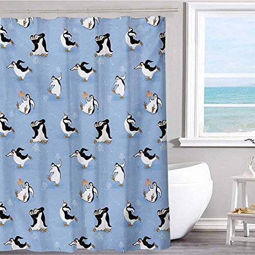 MKOK Polyester Shower Curtain 70