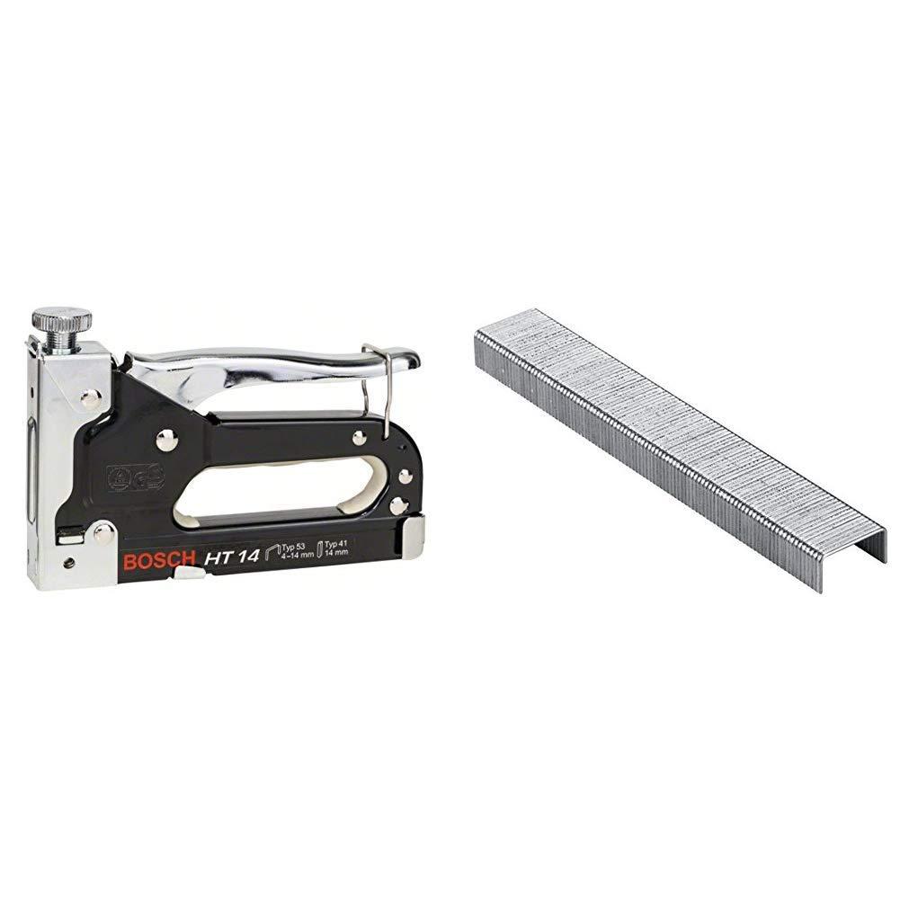Holz, Klammertyp 41 Bosch Professional Handtacker HT 14 /& 2609255819 DIY Klammern Typ 53 11.4 x 0.74 x 6 mm