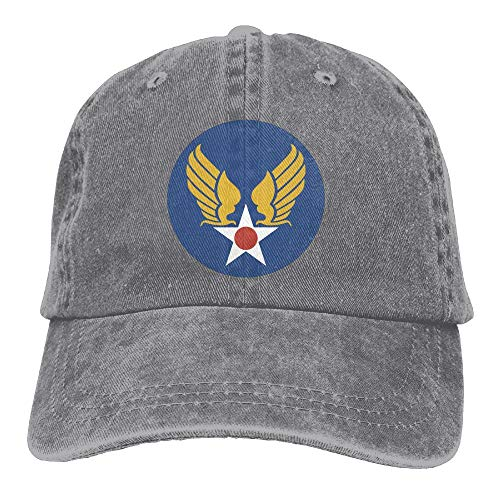 KERLANDER US Army AIR Corps Flag Adjustable Washed Twill Baseball Cap Dad Hat