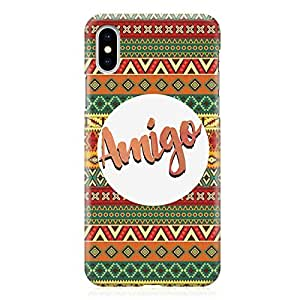 Loud Universe Case for iPhone XS Wrap around Edges Amigo Heavy Duty Light Weight Modern iPhone XS Cover