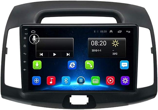 XMZWD Android 8.1 Coche Reproductor Multimedia GPS Navegación, para Hyundai Elantra con HD 1080P/9 Pulgadas/FM Radio/WiFi/Bluetooth Manos Libres/Control del Volante, Navegador GPS Coche: Amazon.es: Hogar